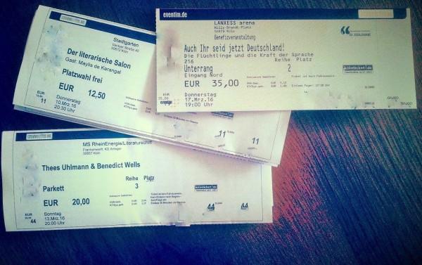 Tickets litCologne