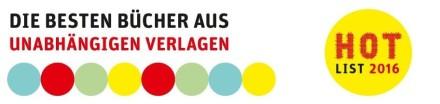 Hotlist 2016 Independent Verlage