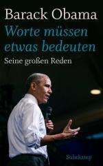 Barack Obama Worte müssen etwas bedeuten Suhrkamp RedenBuecherherbst Buecherblog Neuerscheinungen Verlagsvorschau