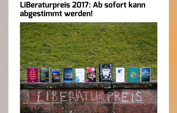 Liberaturpreis Nominierung Abstimmung weibliche Literatur Buecherherbst Buecherblog Litprom