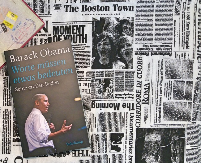 Barack Obama Worte Rezension Buecherherbst Buecherblog