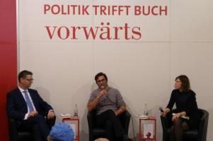 fbm17 Buchmesse buecherherbst buecherblog dbp17 vorwaerts politik buch spd schaefer guembel
