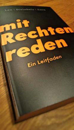 Mit Rechten reden Rezension Leo Steinbeis Zorn Buecherherbst Buecherblog Klett Cotta
