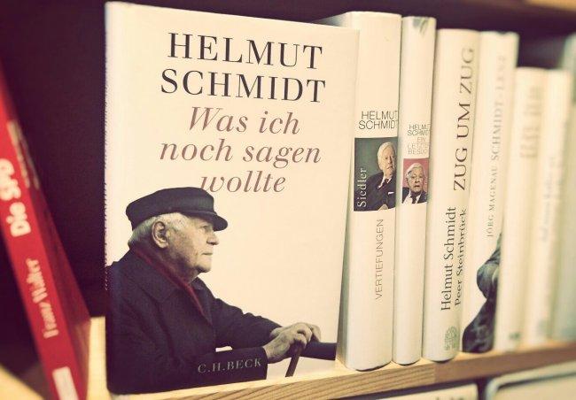 Helmut Schmidt Was ich noch sagen wollte CH Beck Rezension Buecherherbst Buecherblog