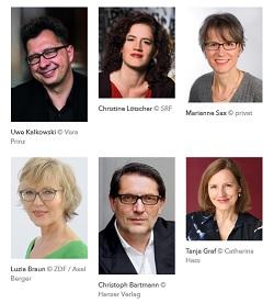 Jury Deutscher Buchpreis fbm18 Buchmesse dbp18 cafehaussitzer