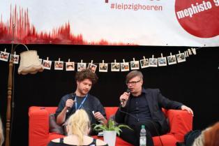 Leipziger Buchmesse lbm18 pdlbm18 Buecherherbst Buecherblog Radio Mephisto