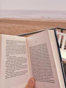 Lesen am Meer Buecherherbst Buecherblog Buecherliebe Nordsee