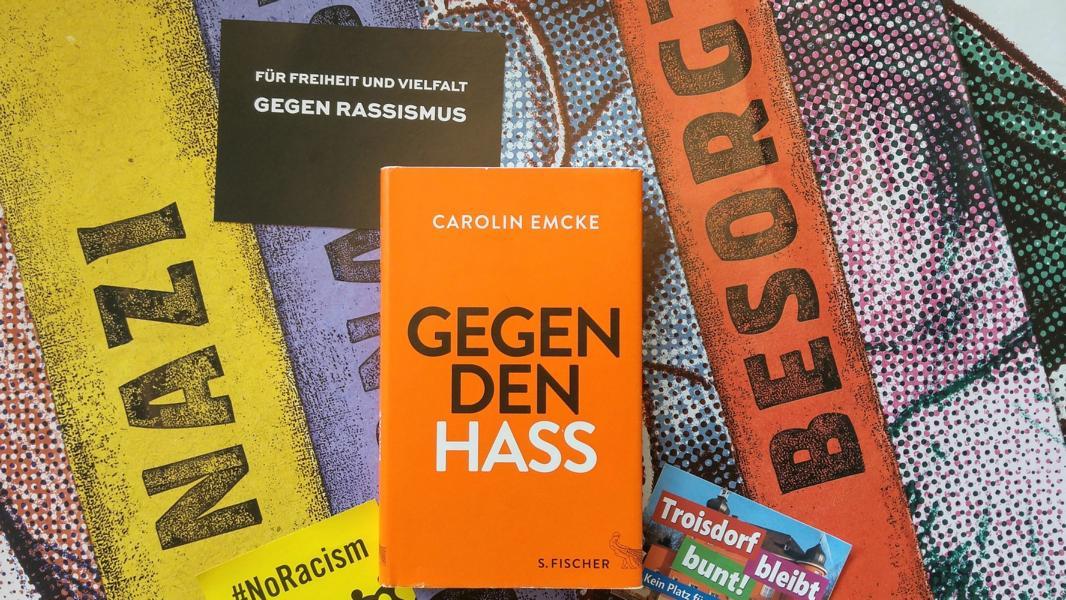 Carolin Emcke gegen Hass Rezension Buecherblog Buecherherbst