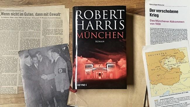 Robert Harris Muenchen Rezension Buecherblog Buecherherbst