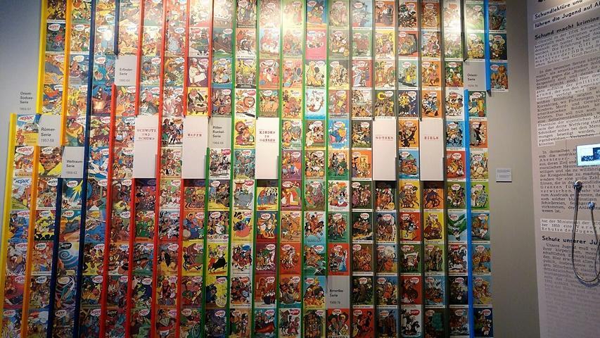 Zeitgenoessisches Forum Leipzig Ausstellung Comics Buecherhotel Buecherblog Buecherherbst Mosaik 5