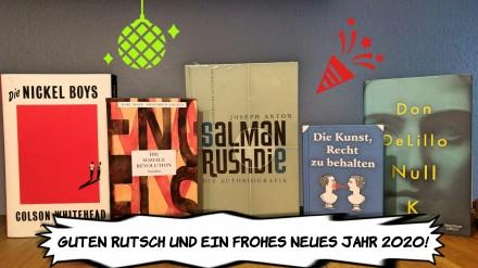Guten Rutsch Frohes Neues 2019 2020 buecherherbst bucherblog silvester
